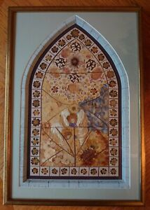 Large Original Dried Dry Pressed Flowers Framed Decoration Picture Wall Art