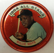 WILLIE MAYS 1964 TOPPS COINS #151 ALL-STAR EXMT-NM! GIANTS! HOF! FREE SHIP!