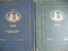 Lloyds register of shipping 1951-2 with British Corporation register 2 vol set