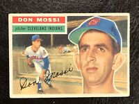 1956 Topps Don Mossi Card #39 VG-EX Cleveland Indians