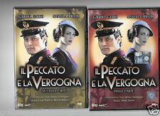 Dvd IL PECCATO E LA VERGOGNA prima e seconda parte   (2 dvd )