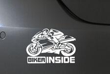 Motorrad Aufkleber Auto Tuning Sticker Motorsport Biker inside moto gp JDM OEM