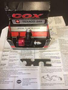 Cox Texaco 049 Engine - Excellent Condition