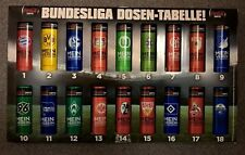1 Dose COCA-COLA Zero Bundesliga BVB FCB S04 HSV VFB H96 M05 1.FCK Hertha Bayer