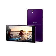 Nuevo Purpura 5'' Sony Ericssion Xperia Z C6603 4G 13MP 16GB Libre Telefono NFC