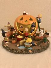 The Bradford Exchange The Peanuts Great Pumpkin Carving Party 2015 Limited