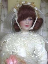 Ashton Drake Bride Doll Her Grandmother's Dress Porcelain William G Hanson COA