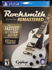 Rocksmith 2014 Edition Remastered Sony PlayStation 4 PS4 with Real Tone Cable