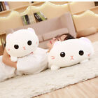 30/45CM Squishy Chubby Cute Cat Plush Toy Soft Animal Cartoon Pillow Cushion NEW