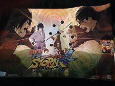 Naruto Shippuden Ultimate Ninja Storm 4 Limited Golden VINYL FIGURE and POSTER