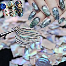 2019 Creative Pearl Light SeaShell Slices Particle Crushed Shell Nail Art Decor