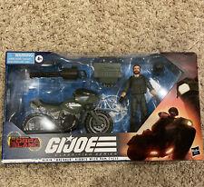 G.I. Joe Classified Series Alvin ?Breaker? Kibbey with RAM Cycle In Hand! 2021