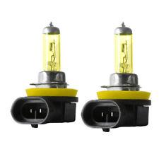 2X H11 Yellow Halogen Bulb 12V 55W 3000K Auto Lamp Quartz Glass Car Fog Light