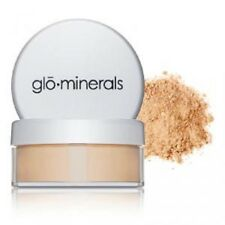 GLOMINERALS LOOSE BASE POWDER FOUNDATION GOLDEN DARK TRAVEL SIZE!
