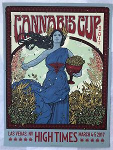 Richey Beckett Maiden Blue Variant Cannabis Cup Las Vegas Limited Edition Print