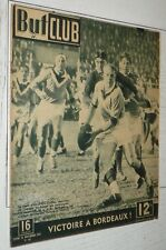 BUT & CLUB N°95 1947 JEU XIII CYCLISME FOOTBALL PORTUGAL-FRANCE RUGBY BOXE