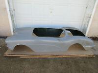 RARE 1960s 1953 Fiberglass Corvette Go Cart Body Shell Chevrolet Dealership NOS