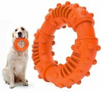 Dog Toys Tough for Aggressive Chewers,Indestructible Rubber Dog Chew Toy Teeth