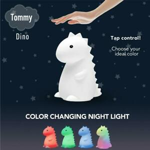 Globe Electric Tommy the Dinosaur Silicone Color Changing Lamp LED Night Light