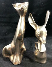 Brass Cat & Mouse.  Made in India.