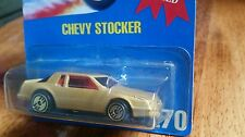 HOT WHEELS ~ CHEVY STOCKER-RARE #270~VHTF~GOLD  COLOR -VARIATION~1991~BLUE CARD