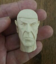 "1/6 scale Star Trek Leonard Nimoy as  Spock 's custom head for 12"" figure"