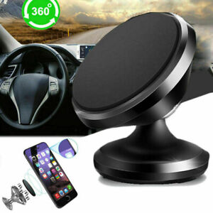 2Pack Universal 360° Magnetic Car Mount Cell Phone GPS Holder Stand Sliver Only