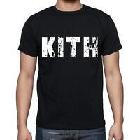 kith Tshirt, Homme Tshirt, Col Rond Homme T-shirt, Noir, Cadeau