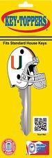 "Miami Hurricanes ""Football Helmet"" Key Toppers"
