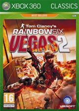 Xbox 360-Tom Videojuego Rainbow Six Vegas 2 ** Nuevo Y Sellado ** existencias oficiales del Reino Unido