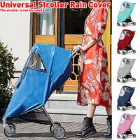 US Folding Waterproof Windproof Rain Cover For Baby Pet Pushchair Stroller Pram