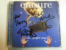 Erasure Other People'S Songs Cd Autographed Andy Bell 100% Authentic English Pop