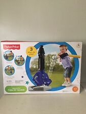 NEW Fisher Price Grow To Pro Triple Hit Baseball # B6312 Age 3-7+.Ninbox