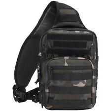 Brandit US Cooper Sling Pack One Strap Backpack Everyday Bag Outdoor Dark Camo