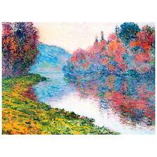 Claude Monet, Banks of Seine at Jeufosse, Clear Weather Deco FRIDGE MAGNET 1884