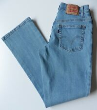 Women's Levis 550 Bootcut Jeans Size 8S Blue W26 L29 Relaxed Stretch Eur 34S