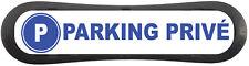 """Plaque d'identification de place de parking """"parking privé"""""""