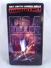 Turbulence VHS 1997 Ray Liotta, Lauren Holly. action, drama