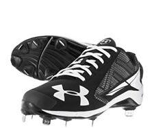 Hombre Armour Negro Zapatos 10 De Béisbol Y Para Softball Nos Under vOqATAw
