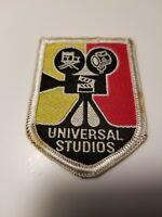 Vintage 1972 UNIVERSAL STUDIOS CHEVRON SHIELD STYLE SOUVENIR PATCH
