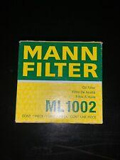 Engine Oil Filter MANN ML 1002