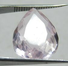 UNTREATED 12.00 Cts PEAR CUT PINK SAPPHIRE LOOSE GEMSTONE GM2165