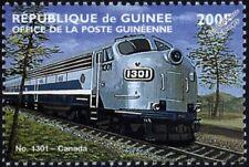 Quebec Central (QC) GM EMD Class FP7 No.1301 Canada Locomotive Train Stamp