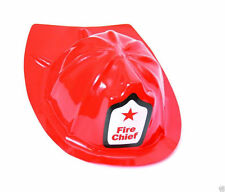 12 Kids Red Fire Man Fighter Hat Helmet Party Favor Halloween Costume Supply