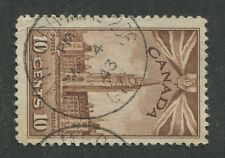 "CANADIAN MILITARY POST OFFICE CANCEL ""BRANTFORD ONT. - M.P.O. 206"""