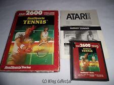 Jeu Atari 2600 - RealSports Tennis