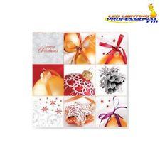 20 Carta Pranzo Tovaglioli NATALE WINTER Bauble BALL DECOUPAGE artigianale / / 550002