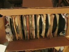 """45 rpm 7"""" record lot of 200 pop rock country r+b etc..."""