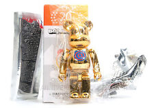 d9c0ae08 Medicom Toy Bearbrick 100% SERIES 20 SECRET 20TH ANNIVERSARY GOLDEN BEAR