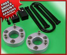 "Fits 05-11 Dodge Ram 1500 Dakota Sil Billet 2"" Front + Rear Suspension Lift Kit"